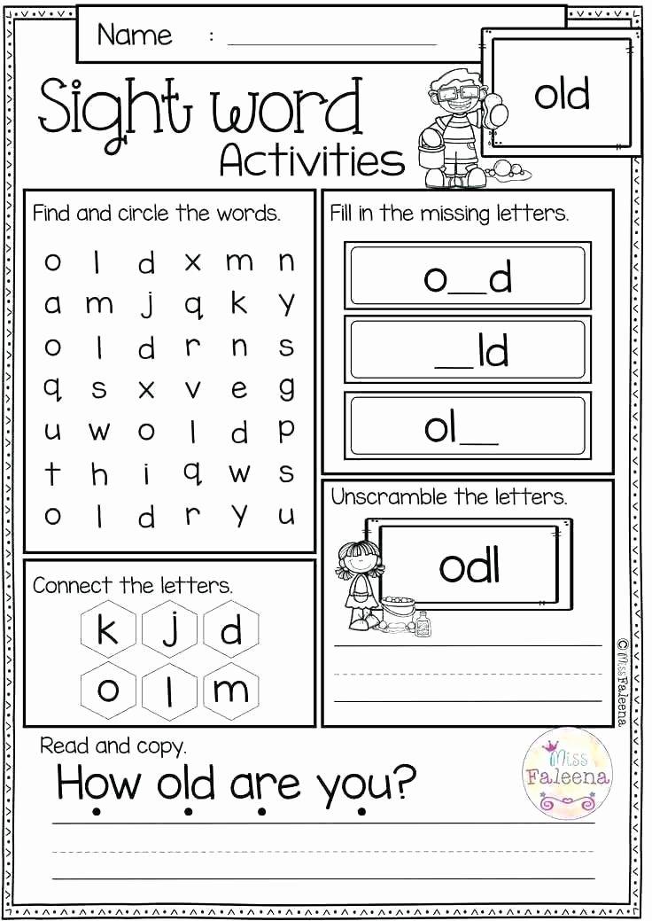 Color Word Worksheets for Kindergarten Free Writing Worksheets for Kindergarten Kinder G Pages