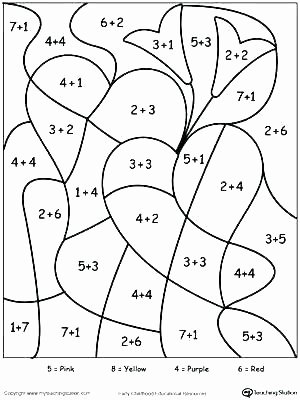 Coloring Addition Worksheet 4th Grade Math Worksheets Pdf Free Third Place Value