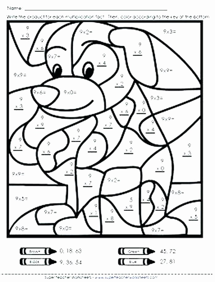 Coloring Math Worksheets 2nd Grade Math Coloring Pages for 2nd Grade – thecandlelady
