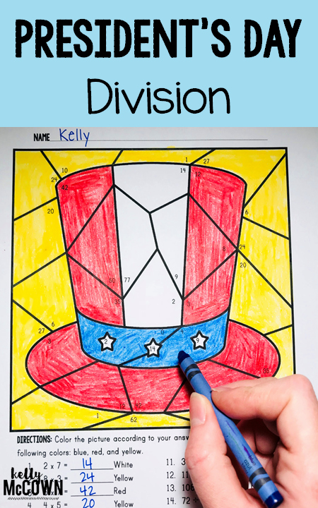Coloring Pages for 3rd Graders President S Day Math Coloring Pages Color Multiplication