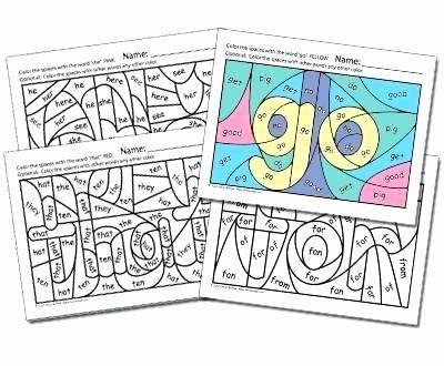 Coloring Sight Words Worksheets Printable Sight Word Coloring Sheets – Ofgodanddice