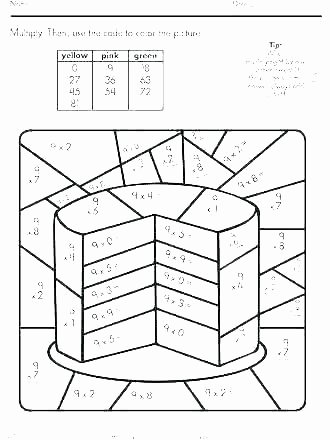 Coloring Squared Worksheets Free Math Coloring Pages – thepilotguy