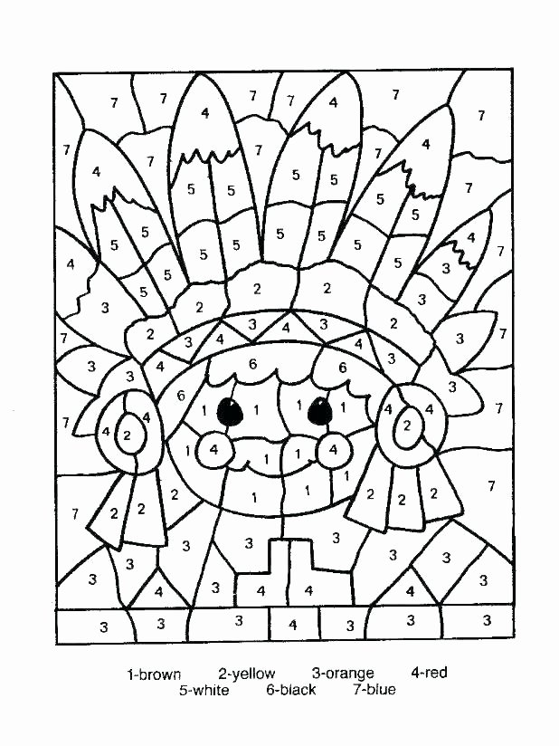 Coloring Worksheets for 2nd Grade Halloween Math Coloring Pages – Usmankhan