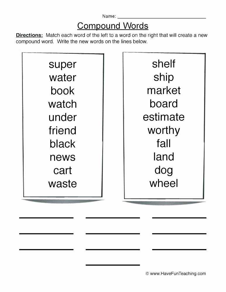 Combining Sentences Worksheets 5th Grade Pound Words In Sentences Worksheets – Odmartlifestyle