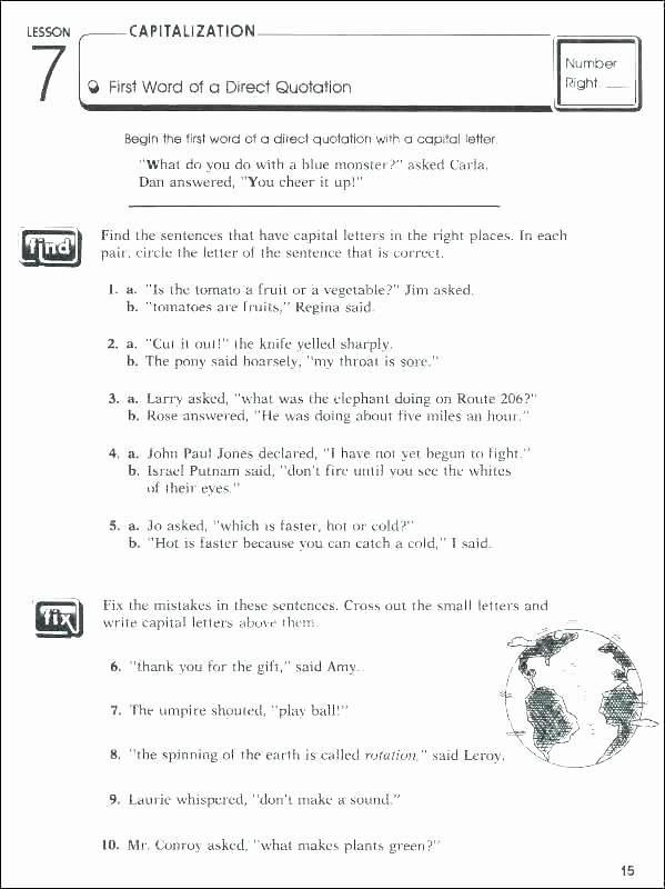 Comma Worksheet Middle School Pdf Writing Punctuation Worksheets Free Grammar and for Grade 6