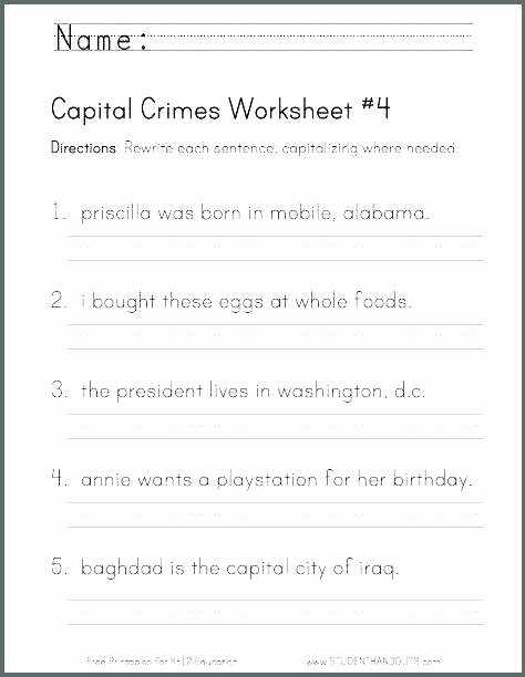 Comma Worksheets 2nd Grade Ending Punctuation Worksheets Free Dashes Worksheet