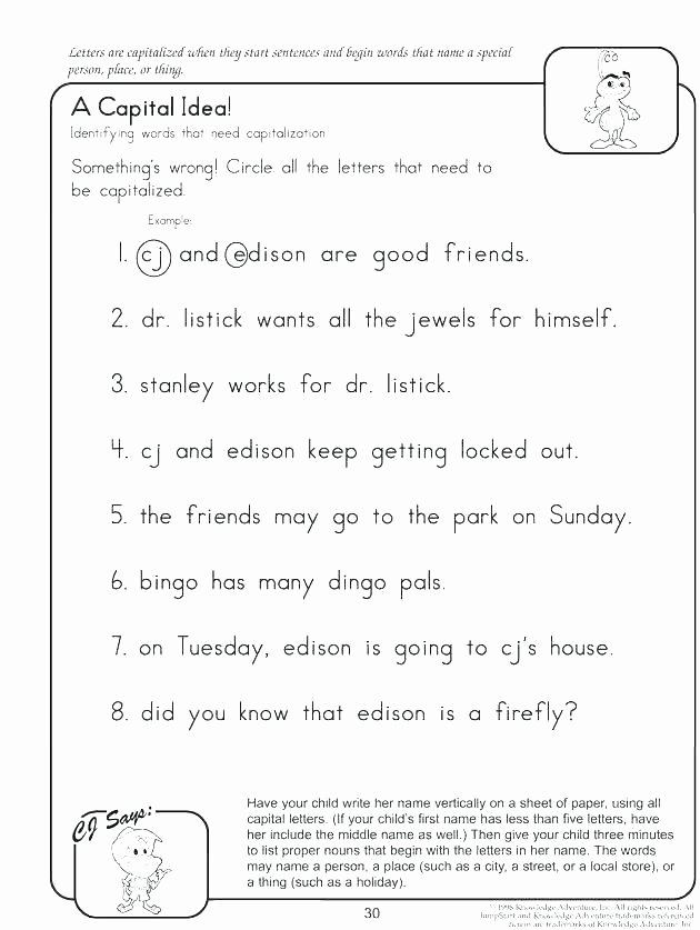 Comma Worksheets 2nd Grade Grade Punctuation Worksheets Second Ma Worksheet