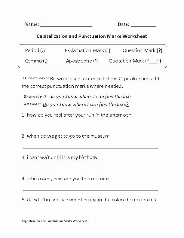 Comma Worksheets High School Pdf High School Punctuation Worksheets Worksheet Ma