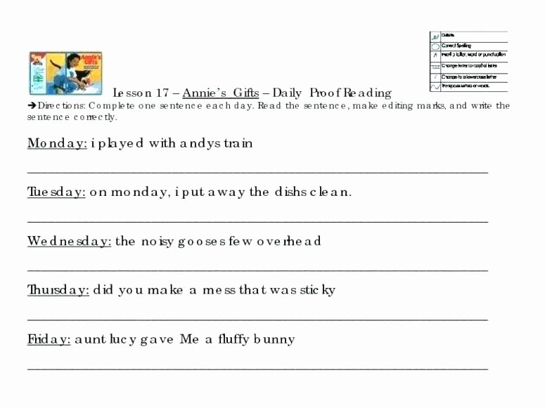 proofreading worksheets 3rd grade small size a free activities grammar sentence correction pdf 5 c