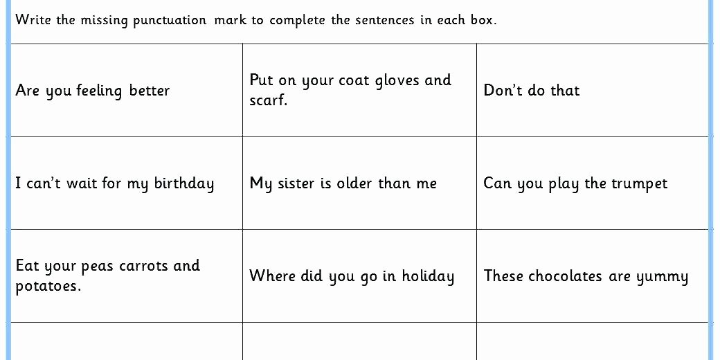 Commas Worksheet 4th Grade Ma Worksheets Free Mas Fair Punctuation In Missing