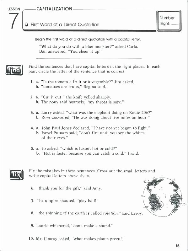 Commas Worksheet 4th Grade Ma Worksheets Grade Best 5 Punctuation Mas