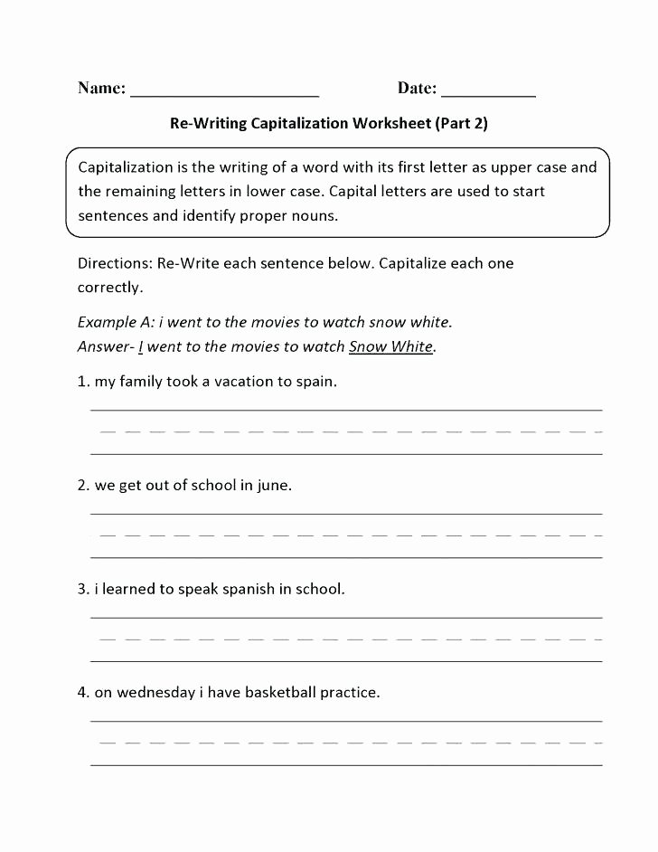 Commas Worksheet 5th Grade Ma Worksheets Dialogue Writing Worksheets Pdf Dialogue