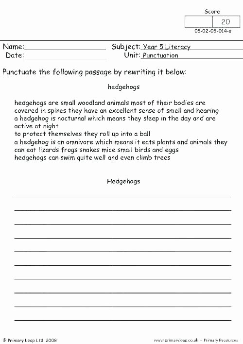 Commas Worksheet 5th Grade Mas Worksheets for 2nd Grade