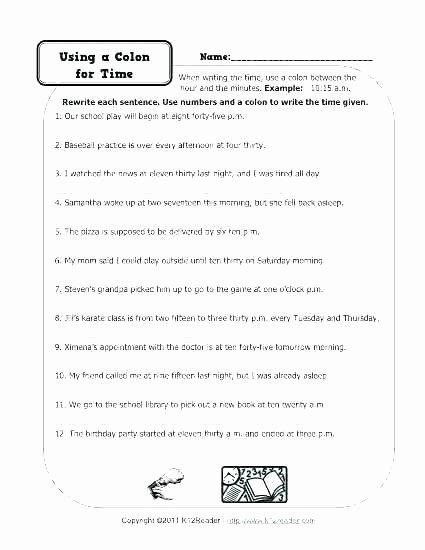 Commas Worksheets 5th Grade Ma Worksheets Grade Best 5 Punctuation Mas