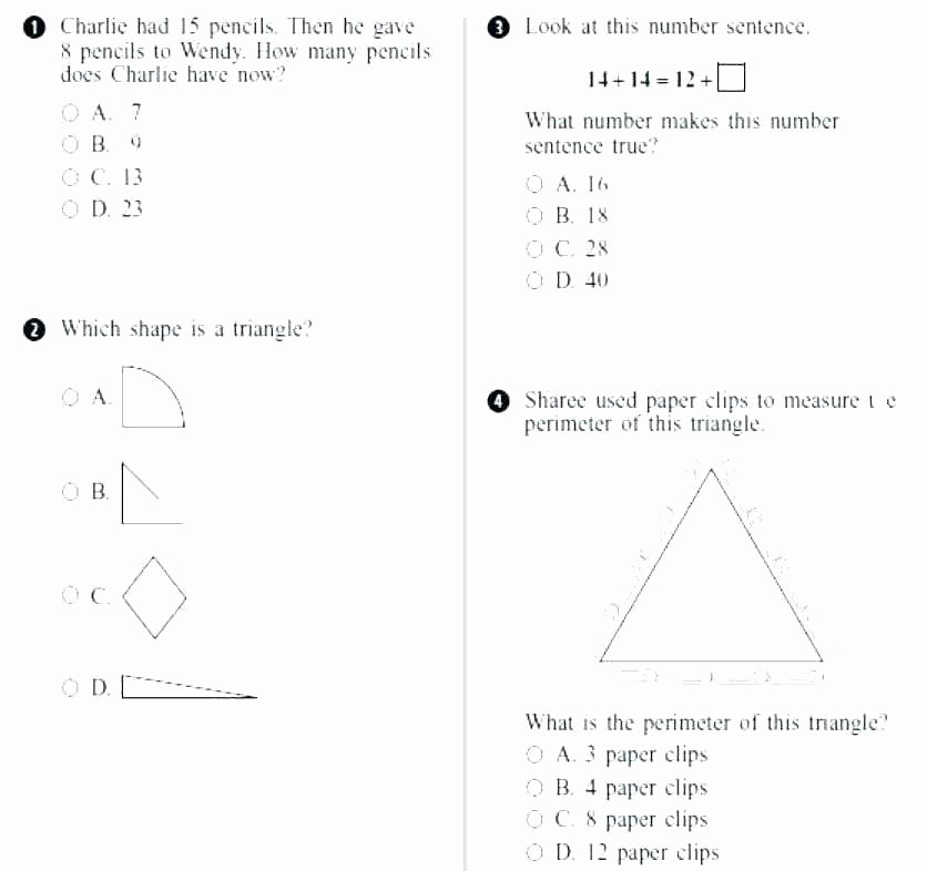 Common Core Measurement Worksheets Math Facts Printable Worksheets – Papakambing