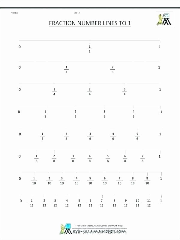 Common Core Sheets Division Equivale Fractions A Number Line Worksheet Grade Fraction