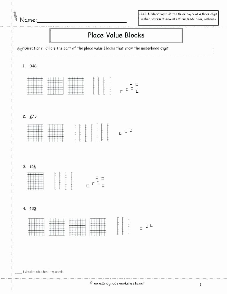 Common Core Worksheets Place Value Grade Math Place Value Worksheets Third Best Cut and Paste