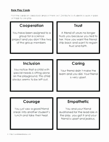 Communication Skills Worksheets for Adults social Skills Worksheets for Autism Excel Kids Printable