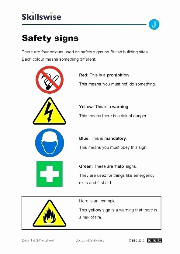 Community Signs Worksheets Inspirational First Aid for Children Worksheets