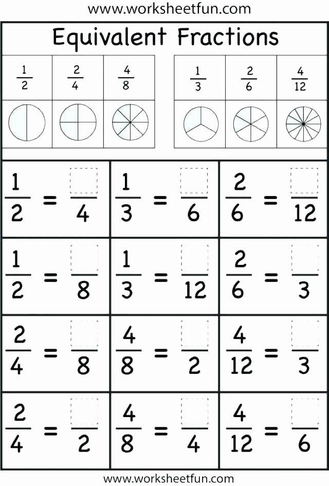 Comparing Fractions Third Grade Worksheet Paring Fractions 3rd Grade Worksheets