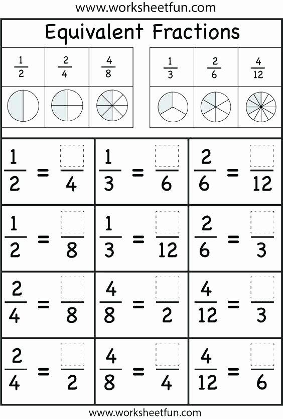 Comparing Fractions Third Grade Worksheet Third Grade Math Fractions Worksheets