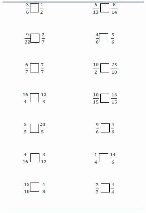 Comparing Fractions Worksheet 3rd Grade Pare Fraction Worksheets – Petpage