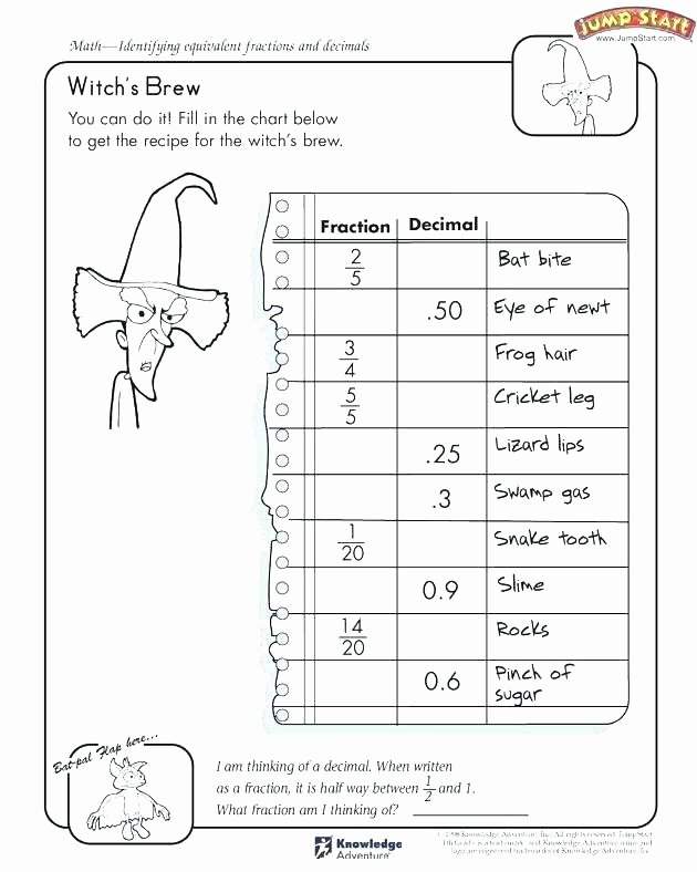Comparing Fractions Worksheet 4th Grade Equivalent Fractions Fourth Grade Worksheets Paring A