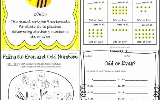Comparing Numbers Worksheets 2nd Grade Odd and even Worksheets 2nd Grade