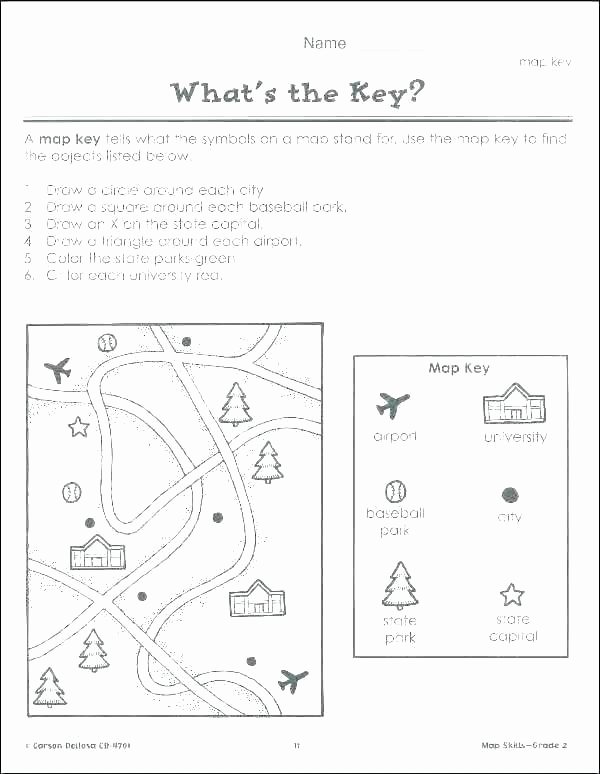 Compass Rose Worksheets Middle School Printable Map Skills Worksheets – Dstic