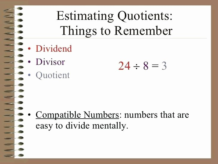 Compatible Numbers In Division Worksheets Rounding Estimation Worksheets Rounding and Estimating