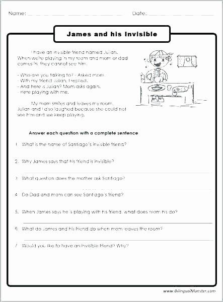Complete Sentence Worksheet 3rd Grade Sequencing Worksheets 3rd Grade Pdf for Printable 3