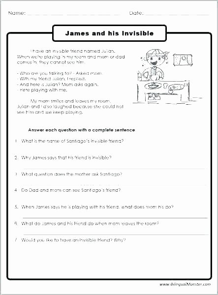 Complete Sentence Worksheets 3rd Grade Sequencing Worksheets 3rd Grade Pdf for Printable 3