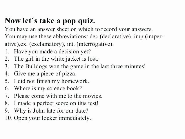 Complete Sentences Worksheet 4th Grade 4th Grade Grammar Worksheets