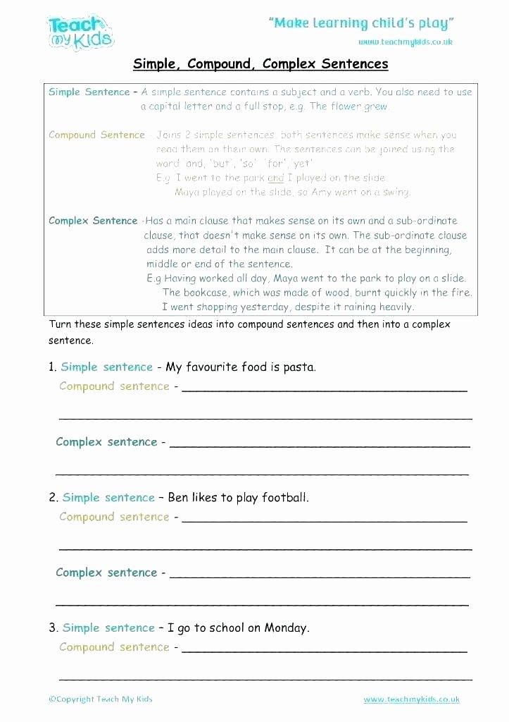 Complete Sentences Worksheet 4th Grade Pound Words In Sentences Worksheets – Odmartlifestyle