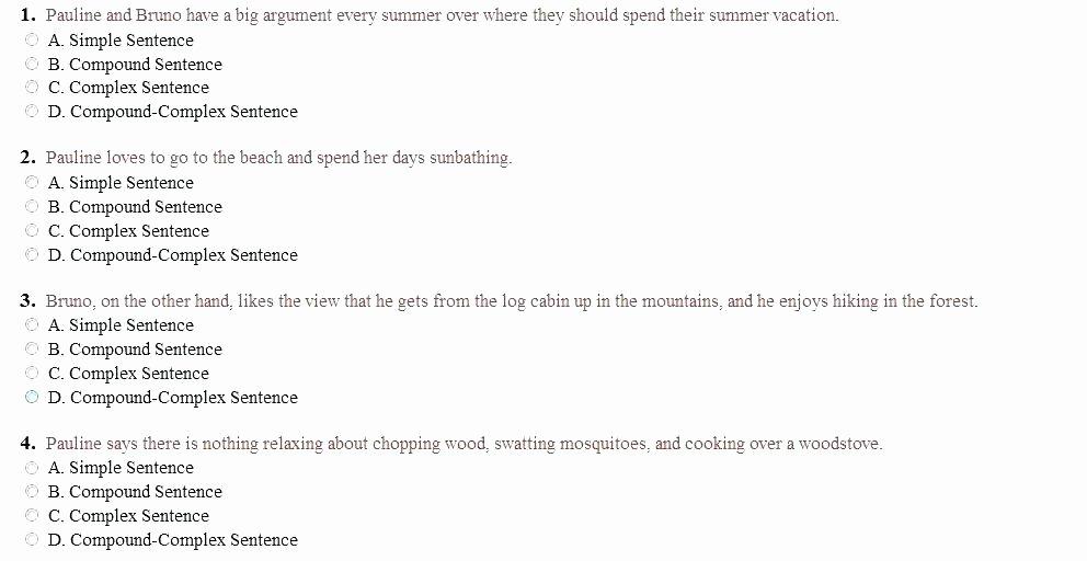 Complete Sentences Worksheets 2nd Grade Simple Sentences to Pound Sentences Worksheets