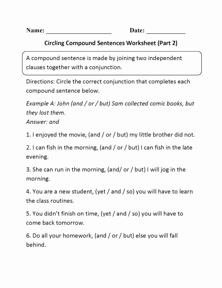 Complete Sentences Worksheets 3rd Grade Sentence and Sentence Fragments Worksheets