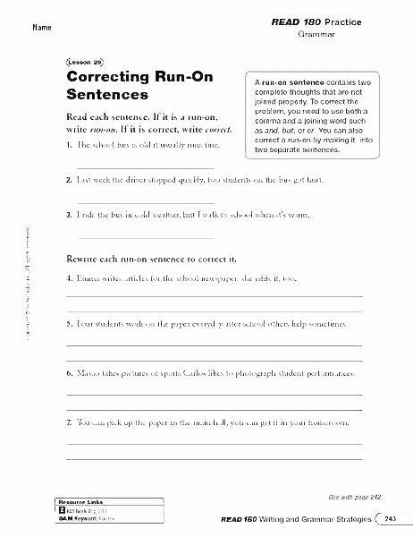 Complete Sentences Worksheets 3rd Grade Writing Sentences Worksheets Grade 2 Sentence Structure