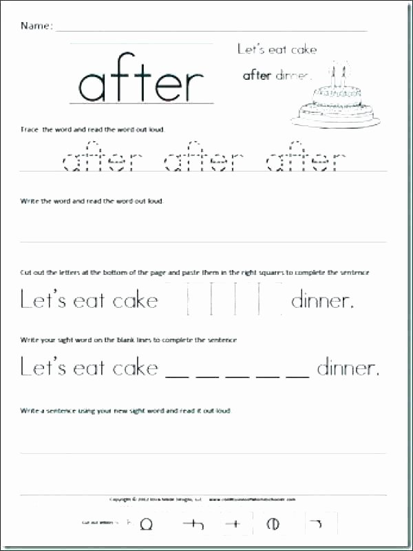 Complete Sentences Worksheets 4th Grade First Grade Sentence Writing Worksheets