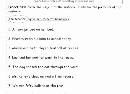 Complete Sentences Worksheets 4th Grade Worksheets Grade Sentence Structure Free Bining Sentences
