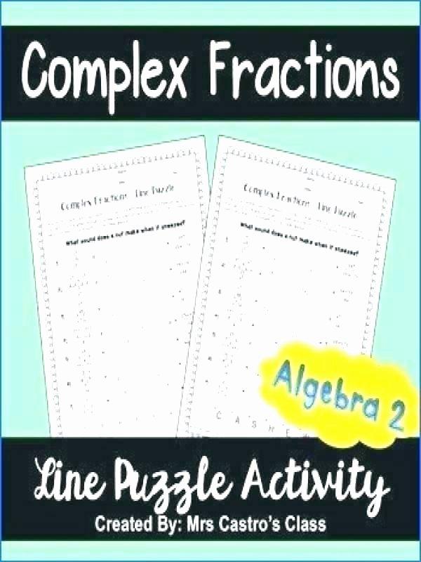 Complex Figures Worksheets Algebra 2 Puzzle Worksheets