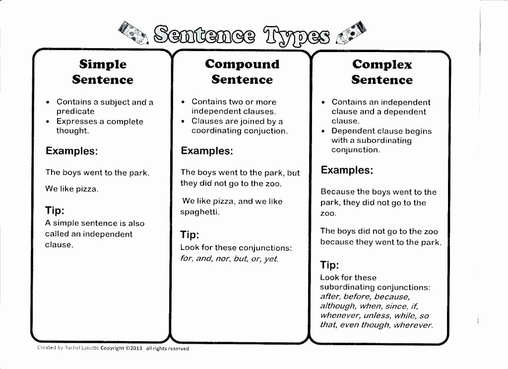 Complex Sentence Worksheets 4th Grade Pound Sentence Practice Sentences Worksheets and Students