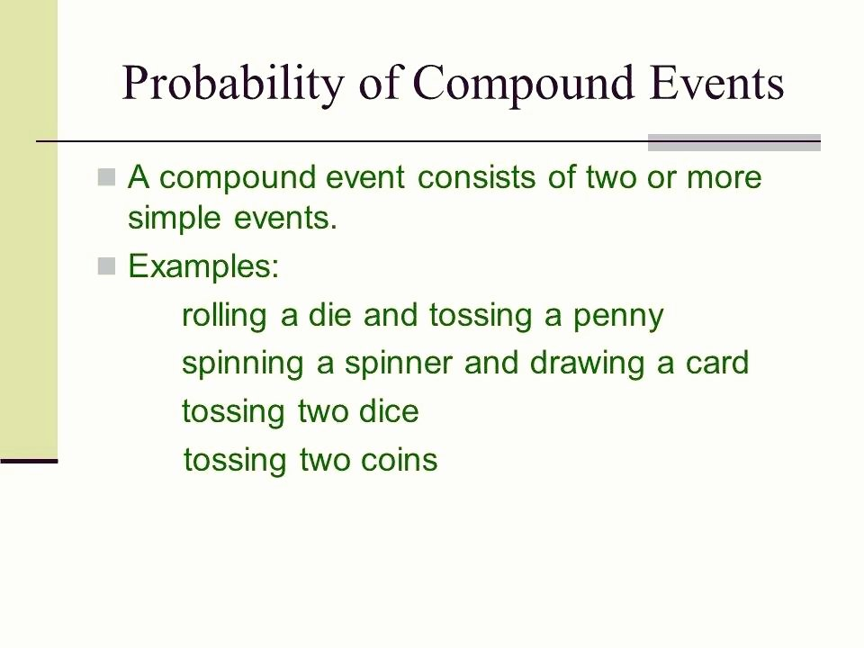 Compound Probability Worksheet Answers Pound events Worksheets – Openlayers