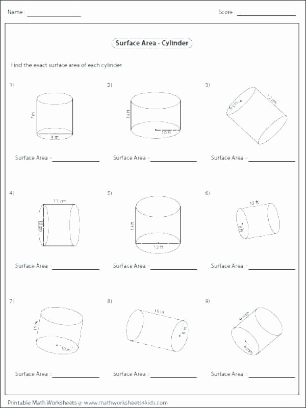 Compound Shapes Worksheet Answer Key area Worksheets 7th Grade