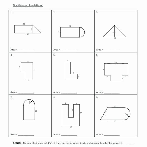 Compound Shapes Worksheet Answer Key Geometry area Worksheet – Paintingmississauga