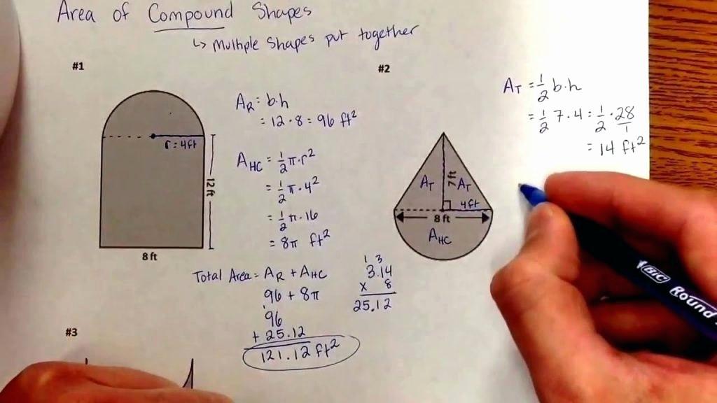 Compound Shapes Worksheet Answer Key Math Aids Worksheet – Uasporting