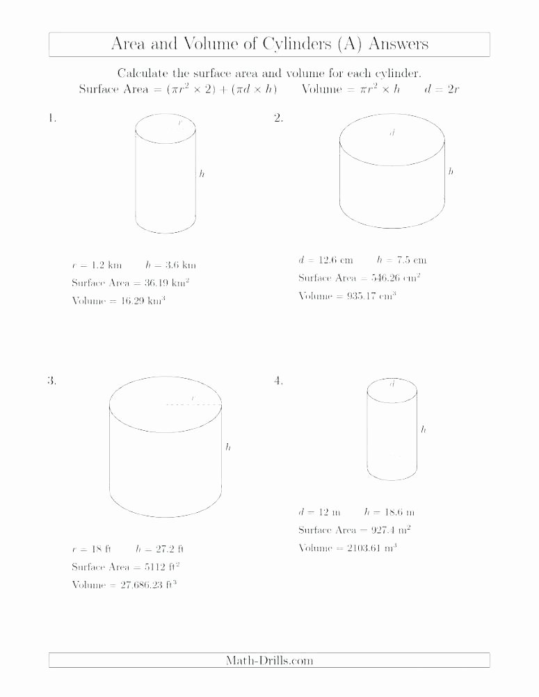 Compound Shapes Worksheet Answers Kids Volume Worksheets A Cone Worksheet E B Surface area