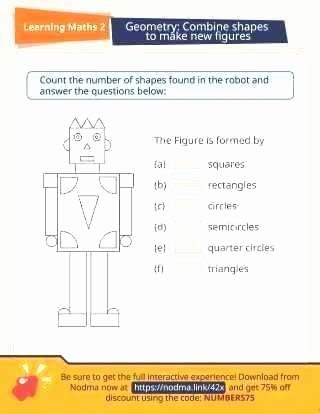 Compound Shapes Worksheet Answers Posite Shapes First Grade Worksheets