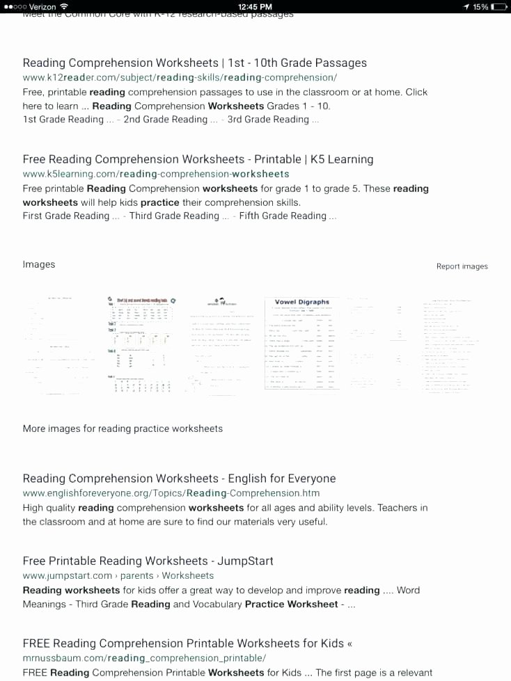 Comprehension Worksheets for First Grade Awesome Free Printable Reading Prehension Worksheets