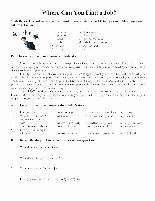 Comprehension Worksheets for Grade 6 Reading Prehension Worksheets English for Everyone