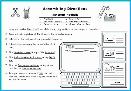 Computer Worksheets for Grade 1 1 Parts A Puter Worksheet for Grades 3 6 Puter Lab